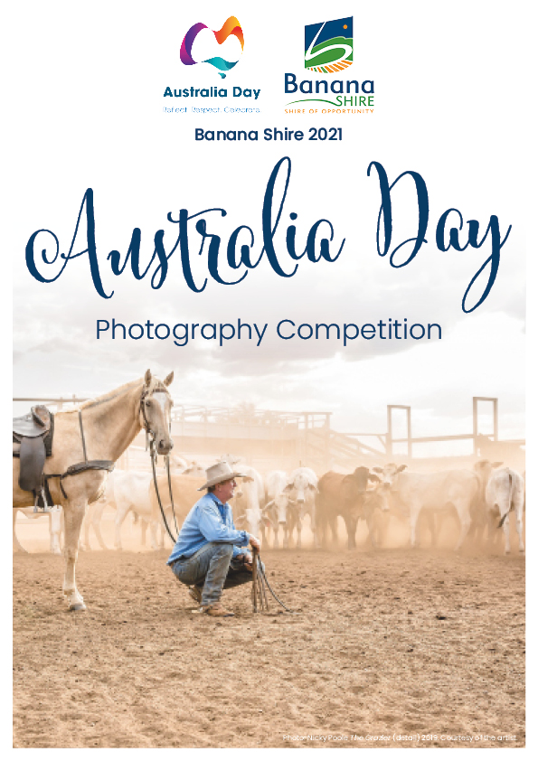 Australia Day Photography Competition Poster