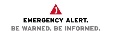 Emergency Alert Be Warned Be Informed